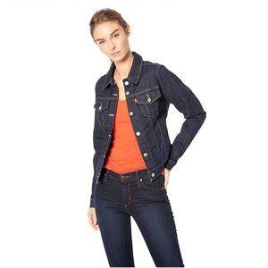 Levis original dark wash trucker denim jacket L